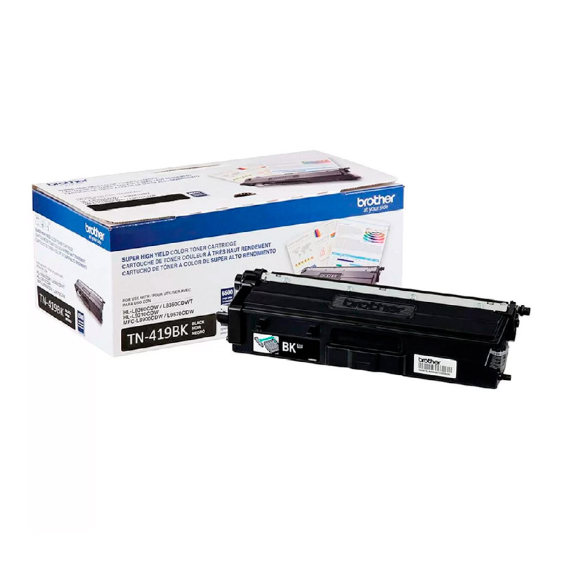 TONER BROTHER TN419BK BLACK ORIGINAL