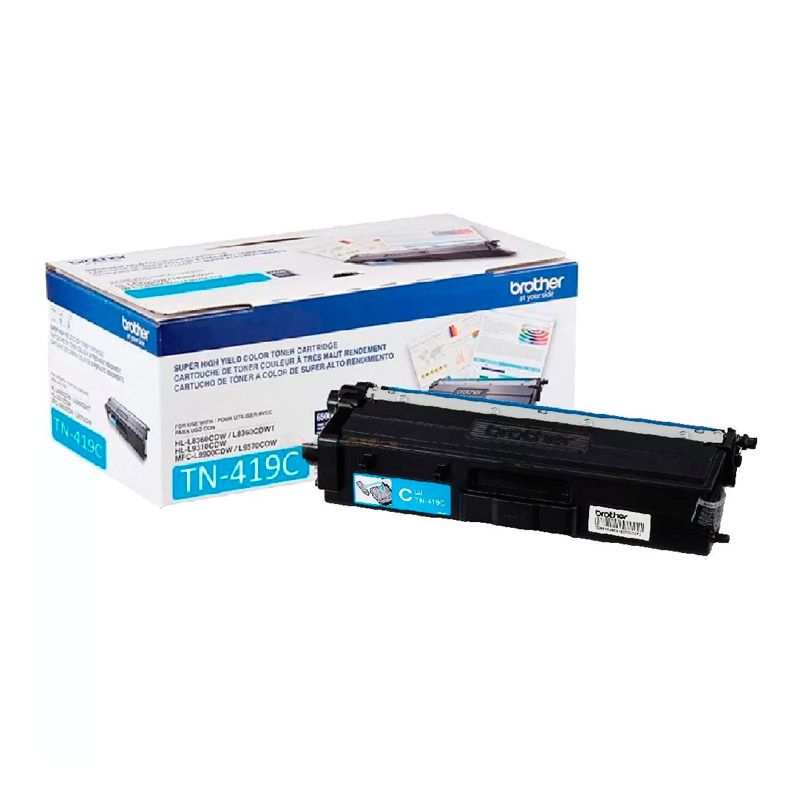 TONER BROTHER TN419C CIANO ORIGINAL