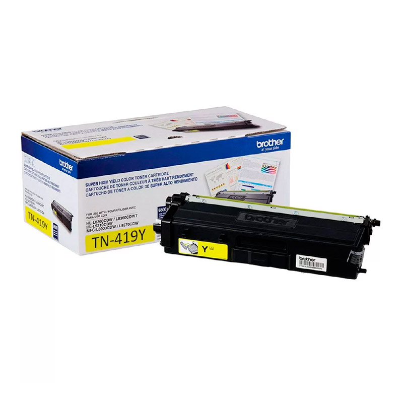 TONER BROTHER TN419Y AMARELO ORIGINAL